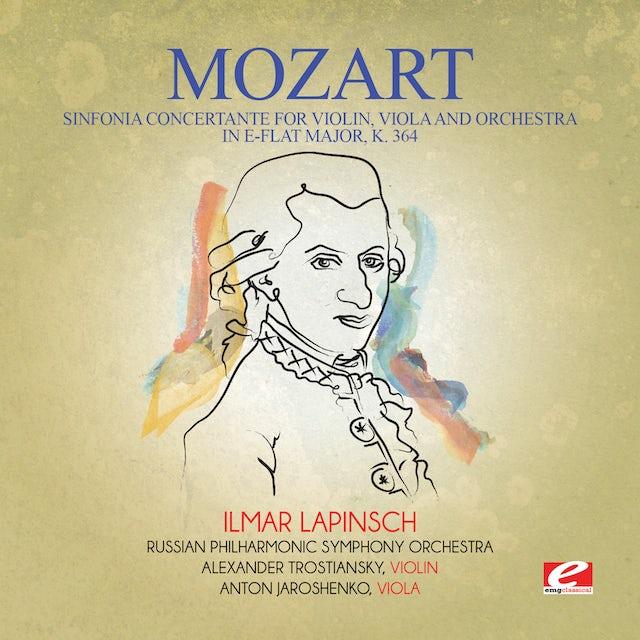 Mozart SINFONIA CONCERTANTE FOR VIOLIN VIOLA & ORCHESTRA CD
