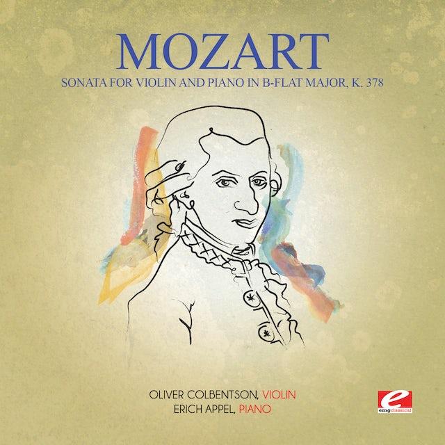 Mozart SONATA FOR VIOLIN & PIANO IN B-FLAT MAJOR K. 378 CD