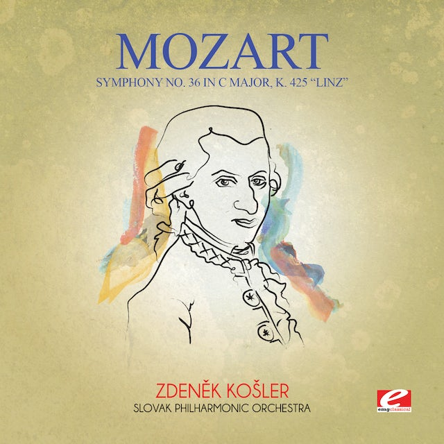 Mozart SYMPHONY NO. 36 IN C MAJOR K. 425 LINZ CD