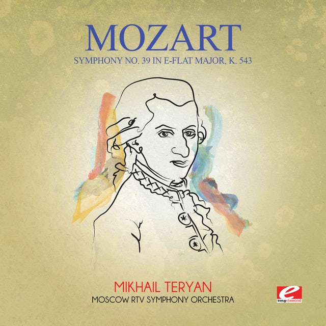 Mozart SYMPHONY NO. 39 IN E-FLAT MAJOR K. 543 CD