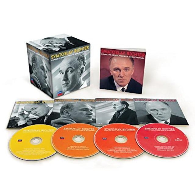 Sviatoslav Richter COMPLETE DECCA PHILIPS & DG RECORDINGS CD