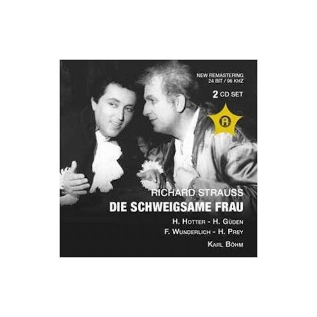 Strauss DIE SCHWEIGSAME FRAU: HOTTER CD