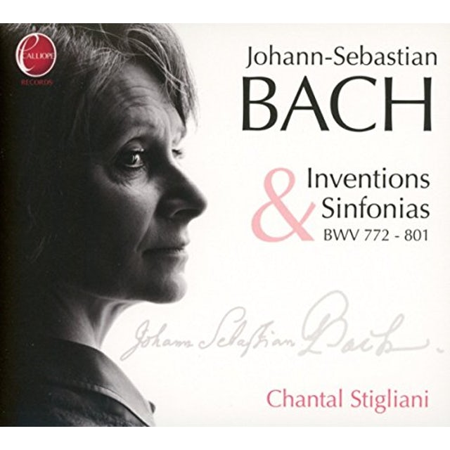 J.S. Bach INVENTIONS & SINFONIAS BWV 7 CD