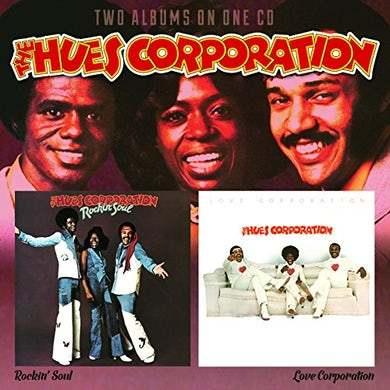 Hues Corporation ROCKIN SOUL / LOVE CORPORATION CD