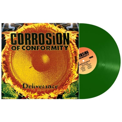 Corrosion Of Conformity DELIVERENCE (GREEN VINYL) Vinyl Record