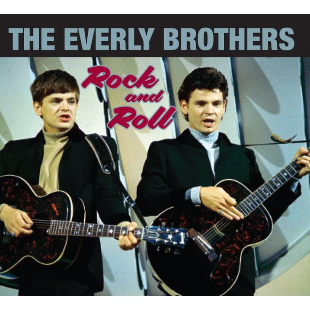 The Everly Brothers ROCK & ROLL CD