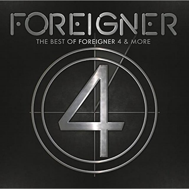 BEST OF FOREIGNER 4 & MORE CD