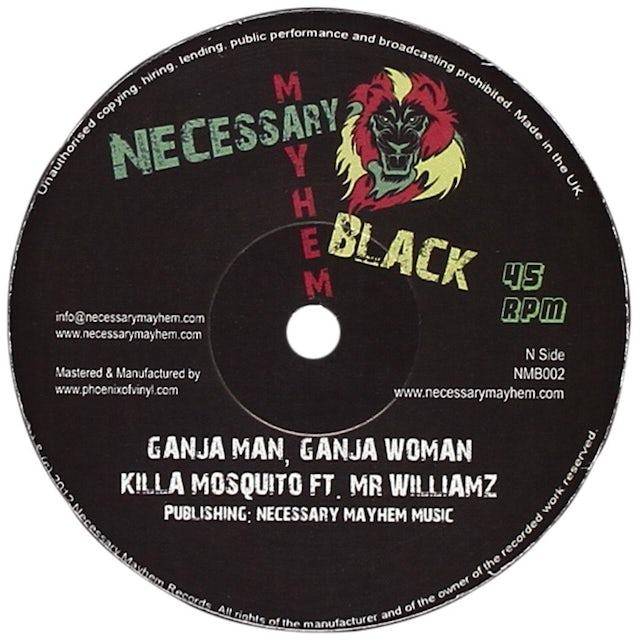 KILLA MOSQUITO / MR WILLIAMZ GANJA MAN GANJA WOMAN Vinyl Record