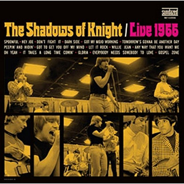 The Shadows Of Knight LIVE 1966 CD