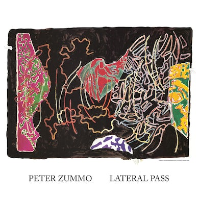 Peter Zummo LATERAL PASS Vinyl Record