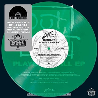 Outkast  PLAYER'S BALL Vinyl Record