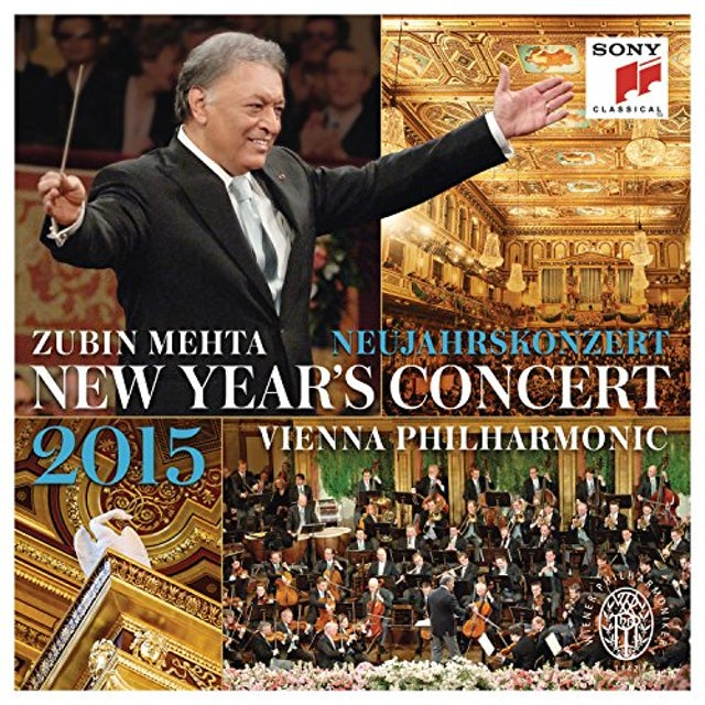 Zubin Mehta NEUJAHRSKONZERT / NEW YEAR'S CONCERT CD