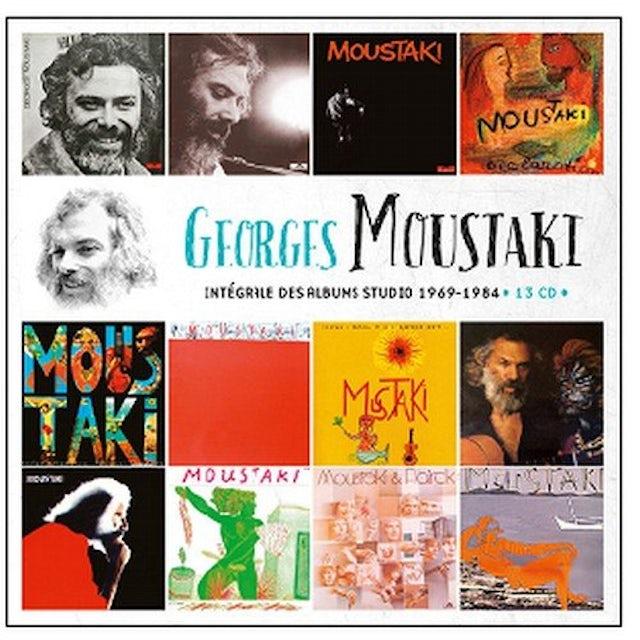 Georges Moustaki INTEGRALE DES ALBUMS STUDIO 1969 CD
