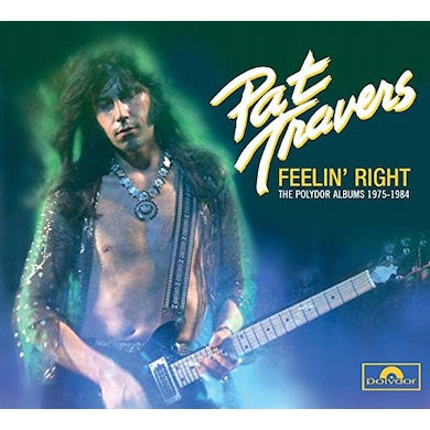 Pat Travers FEELIN' RIGHT CD