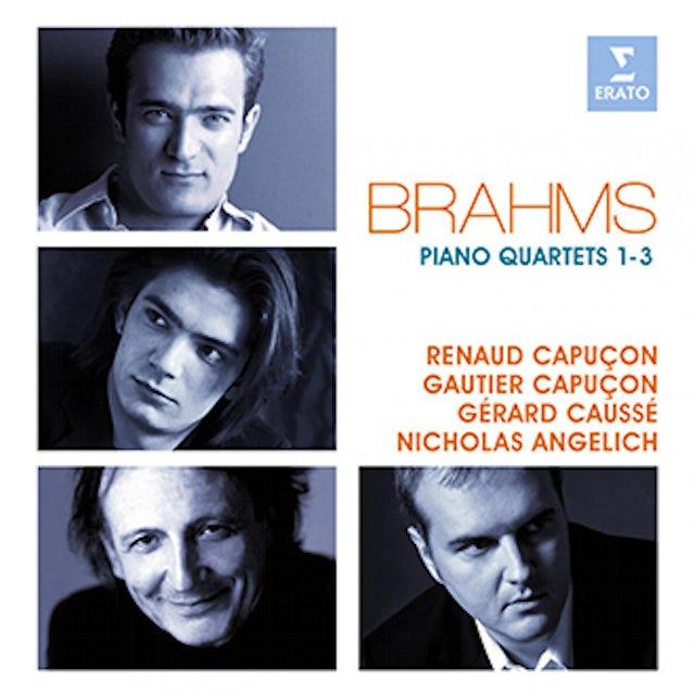 Renaud Capucon BRAHMS: PIANO QUARTETS CD