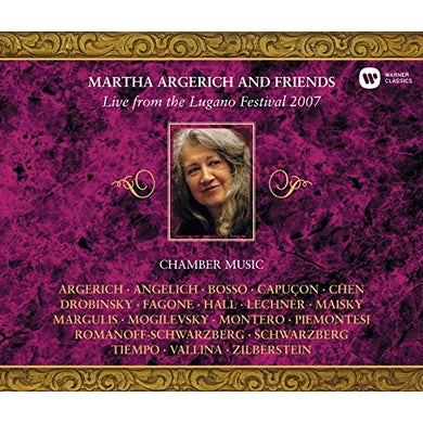 Martha Argerich LIVE FROM THE LUGANO FESTIVAL 2007 CD