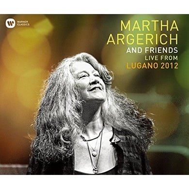 Martha Argerich LIVE FROM THE LUGANO FESTIVAL 2012 CD