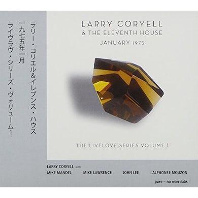 Larry Coryell JANUARY 1975-LIVELOVE SERIES 1 CD