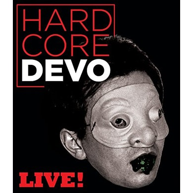 Devo HARDCORE LIVE Blu-ray
