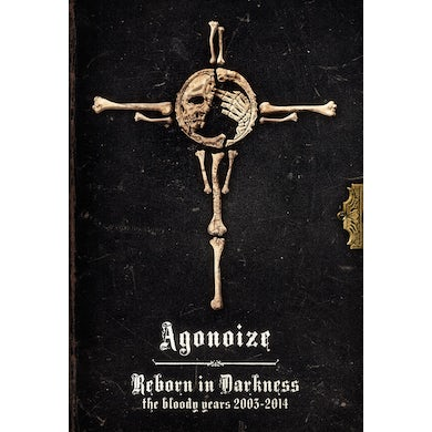 Agonoize REBORN IN DARKNESS / BLOODY YEARS 2003 CD