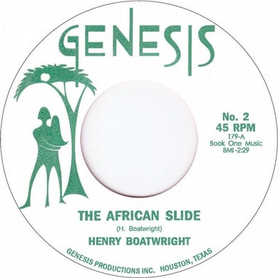 Henry Boatwright AFRICAN SLIDE Vinyl Record