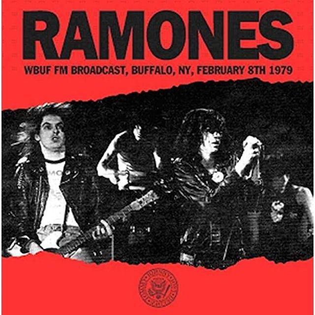 Ramones WBUF FM BROADCAST BUFFALO NY FEBRUARY 8TH 1979 CD