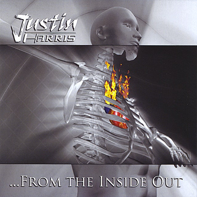 Justin Harris FROM THE INSIDE OUT CD