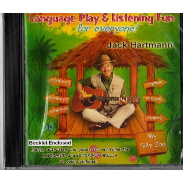 Jack Hartmann LANGUAGE PLAY & LISTENING FUN FOR EVERYONE CD