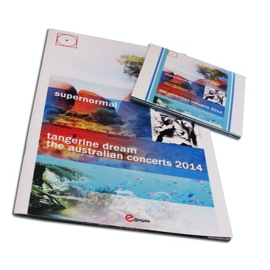 Tangerine Dream SUPERNORMAL-THE AUSTRALIAN CONCERTS 2014 CD