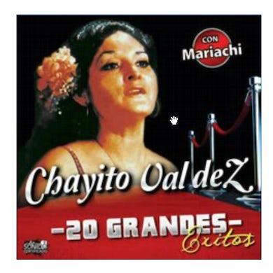 Chayito Valdez 20 GRANDES EXITOS CD