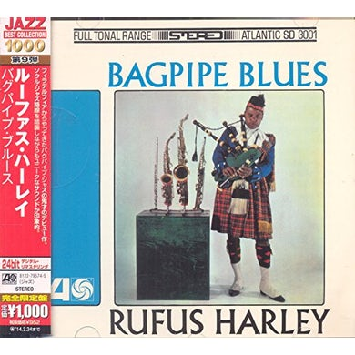 Rufus Harley BAGPIPE BLUES CD