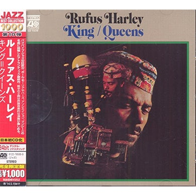 Rufus Harley KING / QUEENS CD
