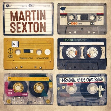 Martin Sexton MIXTAPE OF THE OPEN ROAD Vinyl Record