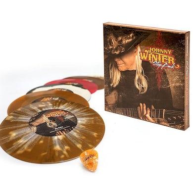 Johnny Winter STEP BACK Vinyl Record Box Set