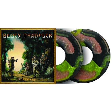 Blues Traveler TRAVELERS AND THIEVES - Limited Edition Medieval Marble Colored Double Vinyl Record