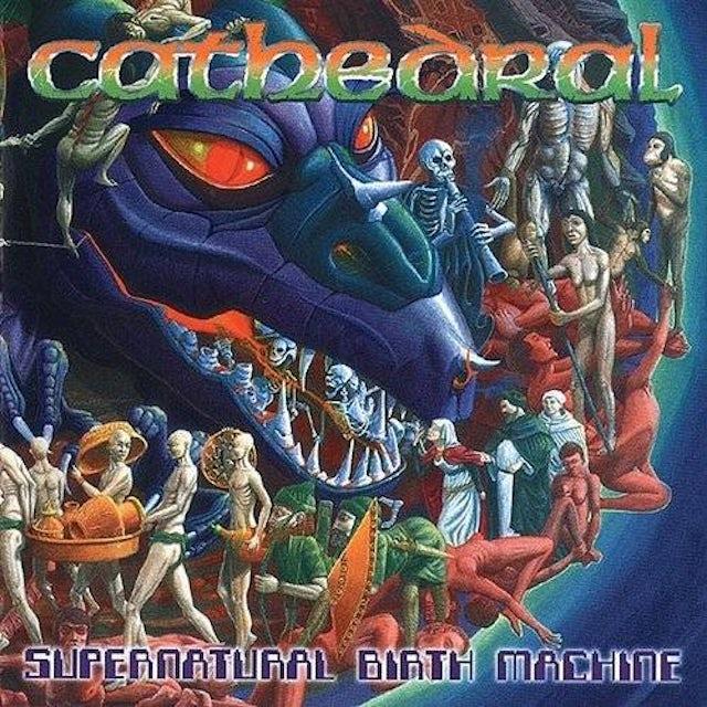 Cathedral SUPERNATURAL BIRTH MACHINE Vinyl Record