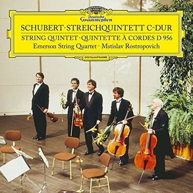 SCHUBERT / EMERSON STRING QUARTET STRING QUINTET IN C D956 Vinyl Record