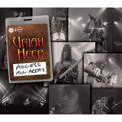 Uriah Heep ACCESS ALL AREAS CD