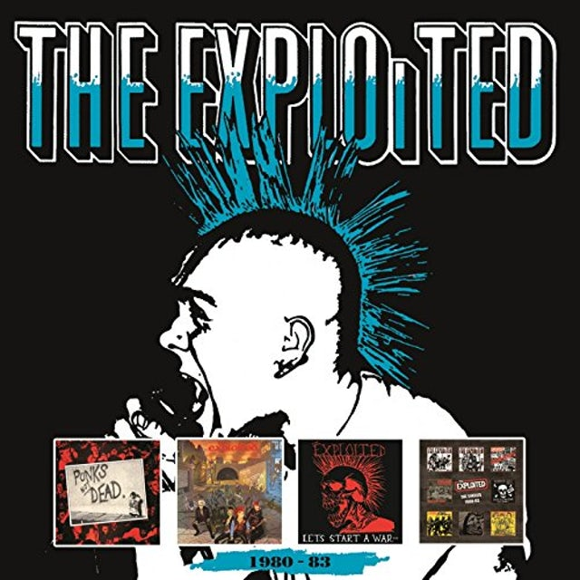 The Exploited 1980-83 CD