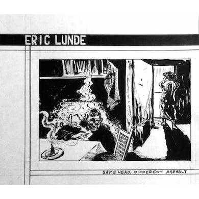 Eric Lunde SAME HEAD DIFFERENT ASPHALT Vinyl Record