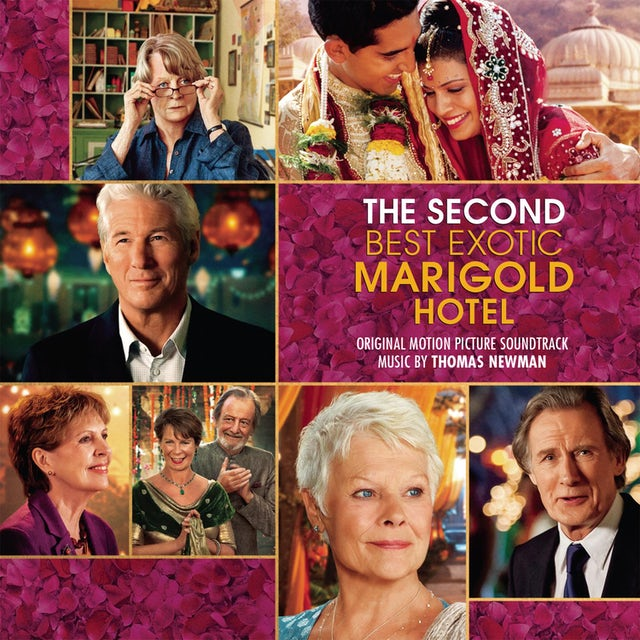 Alfred Newman SECOND BEST EXOTIC MARIGOLD HOTEL (SCORE) / O.S.T. CD