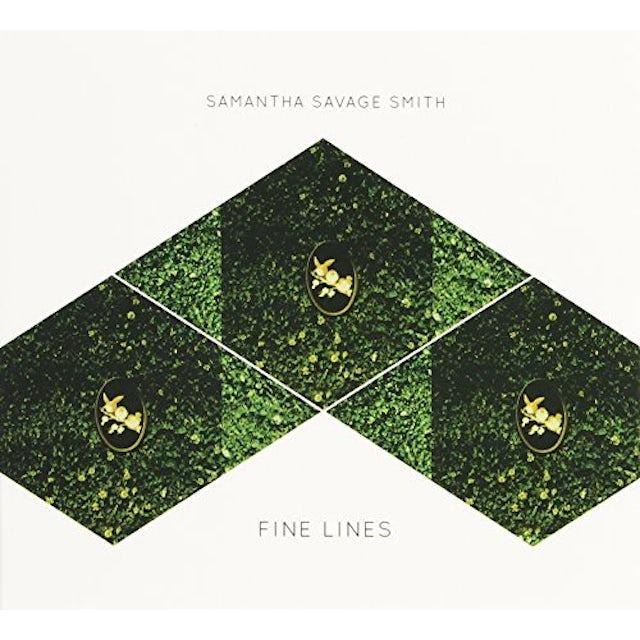 Samantha Savage Smit FINE LINES CD