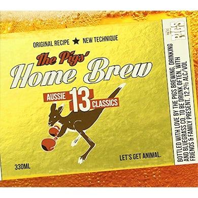 PIGS' HOME BREW: 13 AUSSIE CLASSICS CD