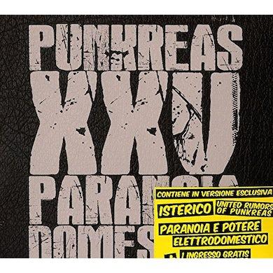 PUNKREAS XXV PARANOIA DOMESTICA CD