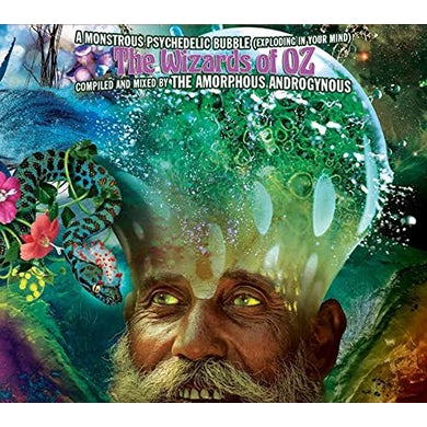 Amorphous Androgynous MONSTROUS PSYCHEDELIC BUBBLE-THE WIZARDS OF OZ CD