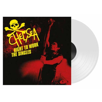 Chelsea RIGHT TO WORK-THE SINGLES Vinyl Record - Colored Vinyl, UK Release
