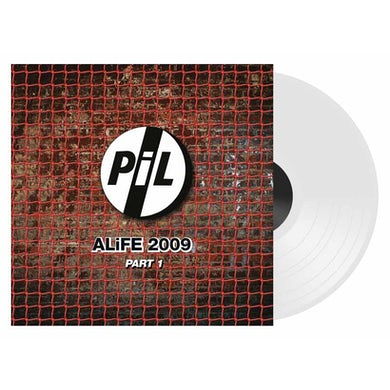 Public Image Ltd ALIFE 2009 PART 1-WHITE VINYL Vinyl Record