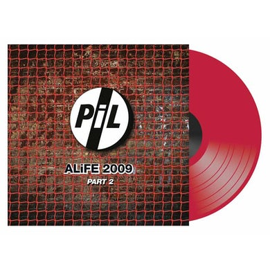 Public Image Ltd ALIFE 2009 PART 2 Vinyl Record - Colored Vinyl, UK Release
