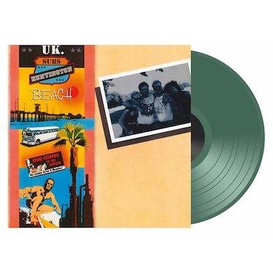 U.K. Subs HUNTINGTON BEACH Vinyl Record - Colored Vinyl, UK Release