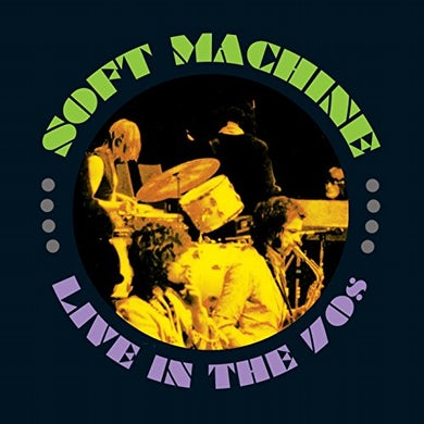 Soft Machine LIVE IN THE 70S CD